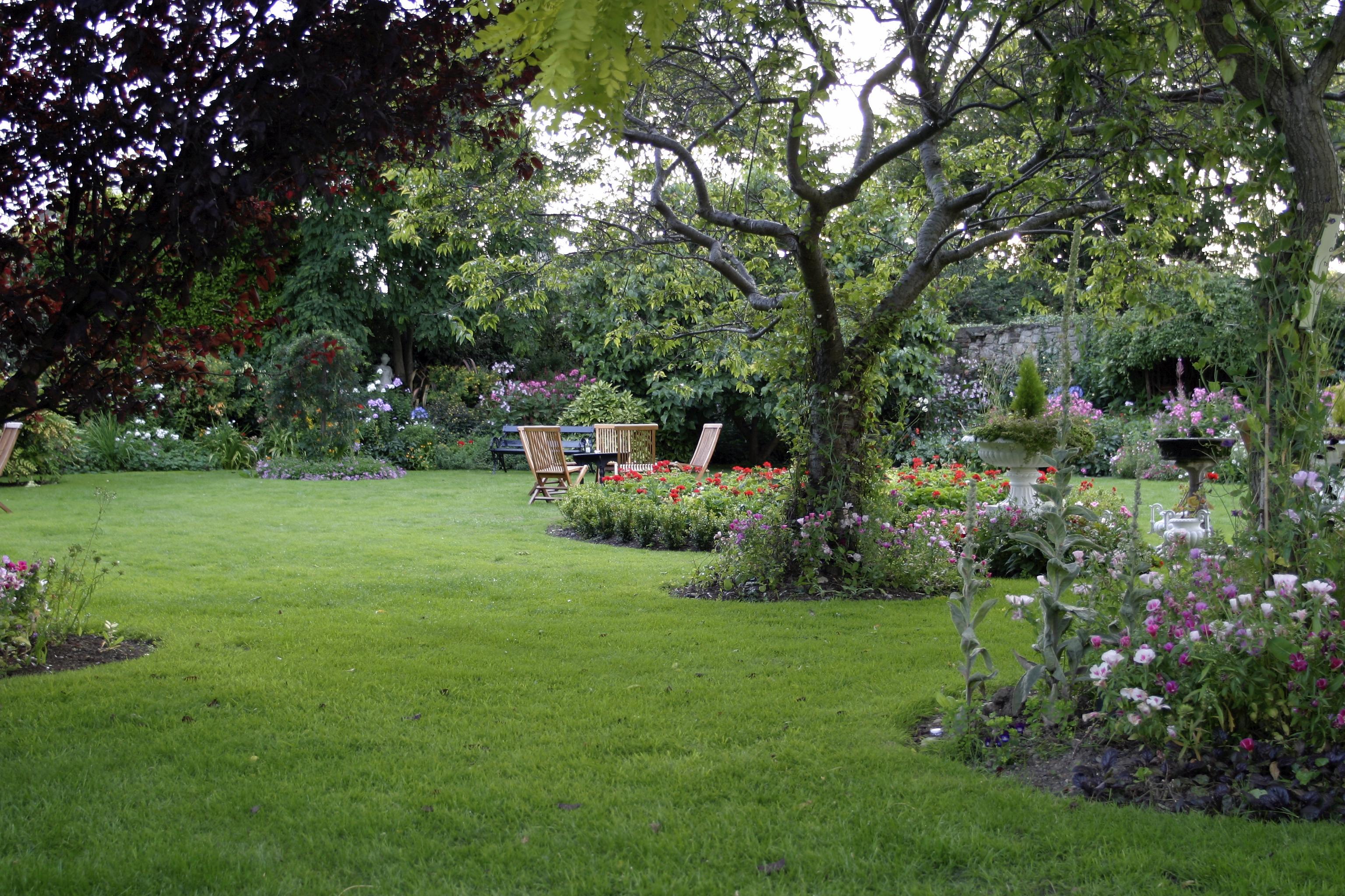 Les jardins des babyboumeurs sont aujourd'hui terminés.